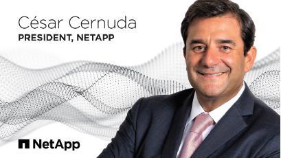 Cesar Cernuda 加入 NetApp 担任总裁
