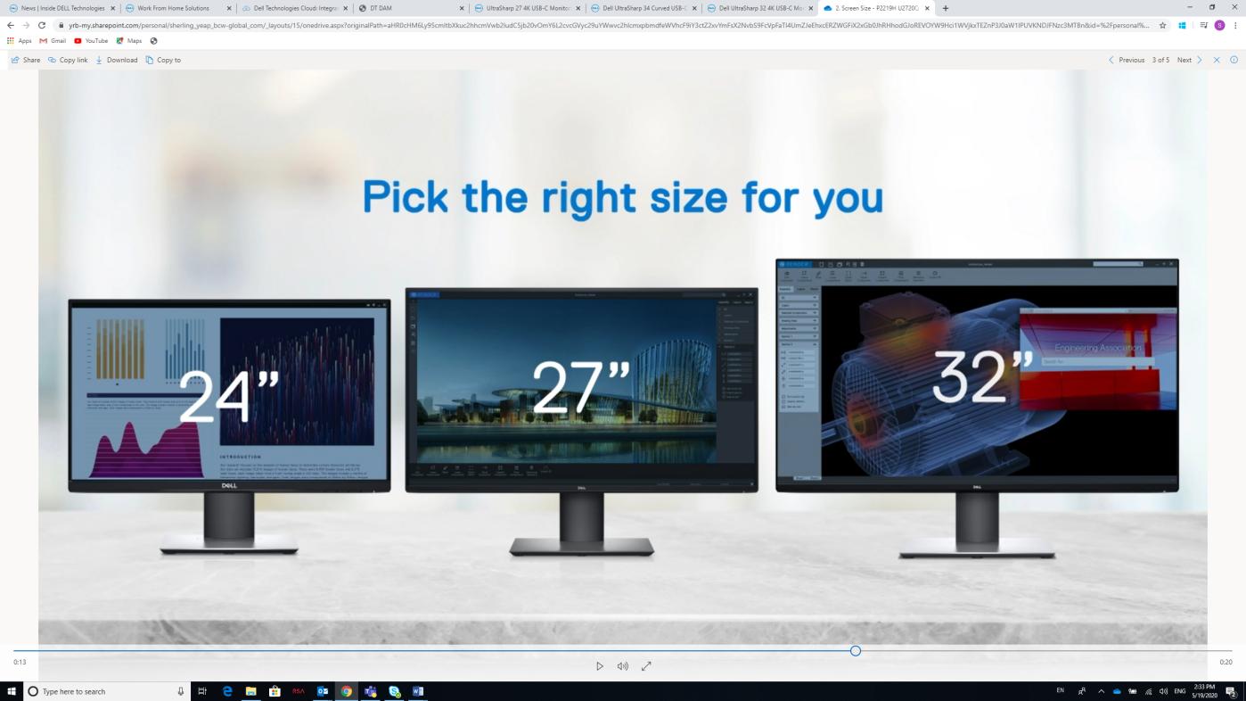 最大化提升远程办公效率 从选择合适的显示器开始